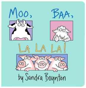 Moo-Baa-La-La-La-Board-book