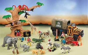 50 piece Jungle Adventure Set for Kids