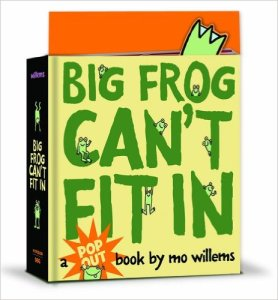 big frog cant fit in