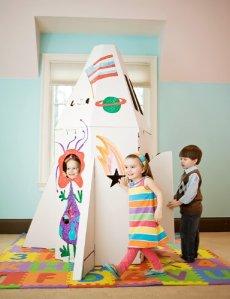 Crafty Kids Shuttle Imagination