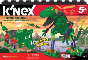 K'NEX DINOSAURS 20 MODEL BUILDING SET