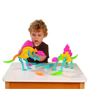 Set of Build-A-Saurus Dinos