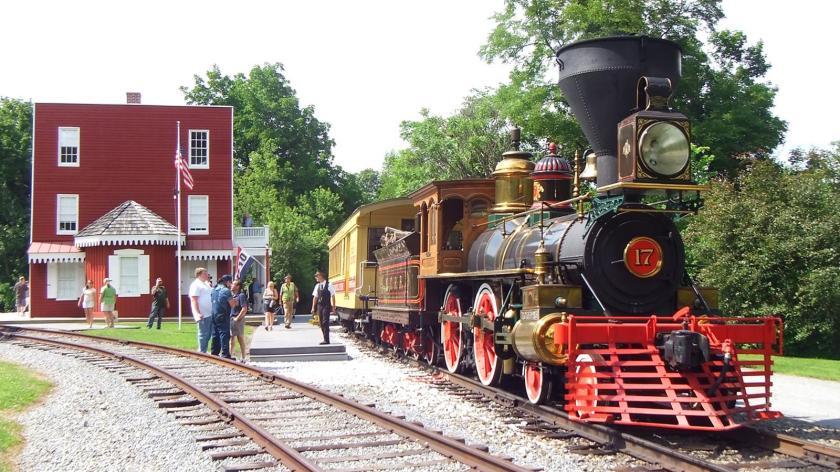 Steam train Scenic-Rail-Photo